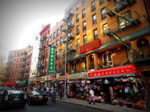 Rue dans Chinatown