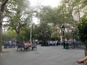 Parc dans Chinatown