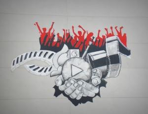Graffiti, art mural, art urbain