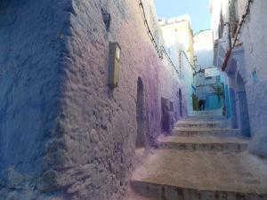 Passage medina Chefchaouen