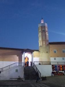 Mosquée Chefchaouen de nuit