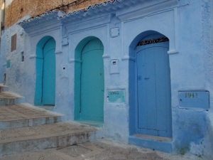 Portes bleues medina Chefchaouen