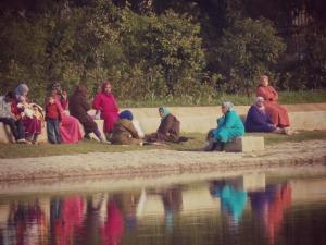 Femmes parc Jnan Sbil