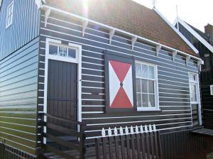Marken est réputé pour ses jolies maisons