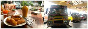 Déjeuner Tara et bus gare Kanchanaburi