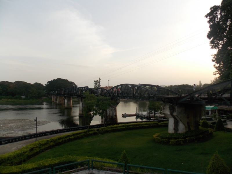 Pont de la Rivière Kwai Kanchanaburi