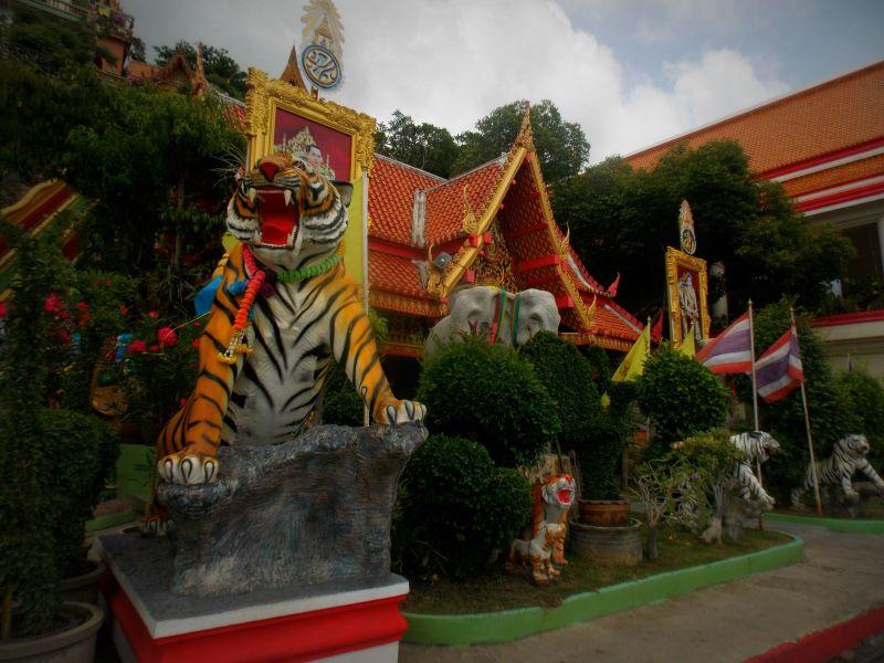 Statue animaux Wat Tham Seua et Wat Tham Khao Noi