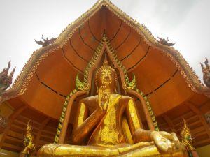 Bouddha Wat Tham Seua et Wat Tham Khao Noi