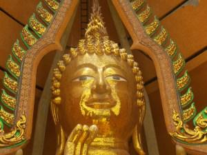 Tête Bouddha Wat Tham Seua et Wat Tham Khao Noi