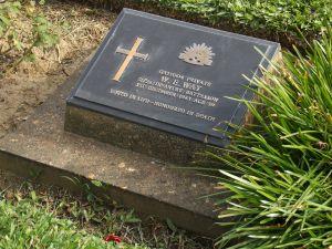 Plaque cimetière alliés Commonwealth et Hollande Kanchanaburi